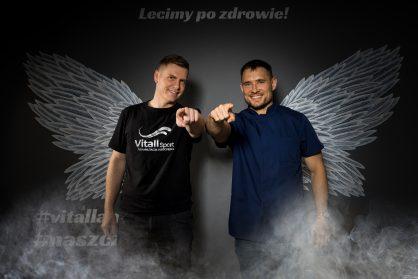Ortopeda, lekarz sportowy Mateusz Kubica