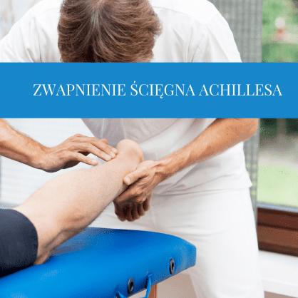 Zwapnienie ścięgna Achillesa